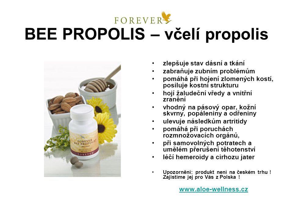 BEE PROPOLIS – včelí propolis