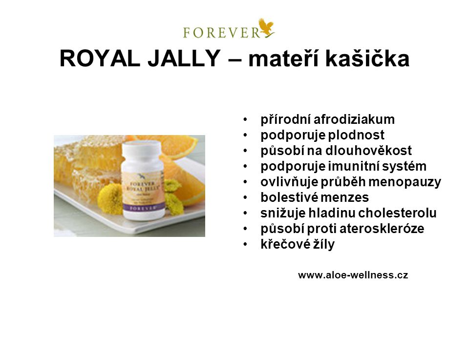 ROYAL JALLY – mateří kašička