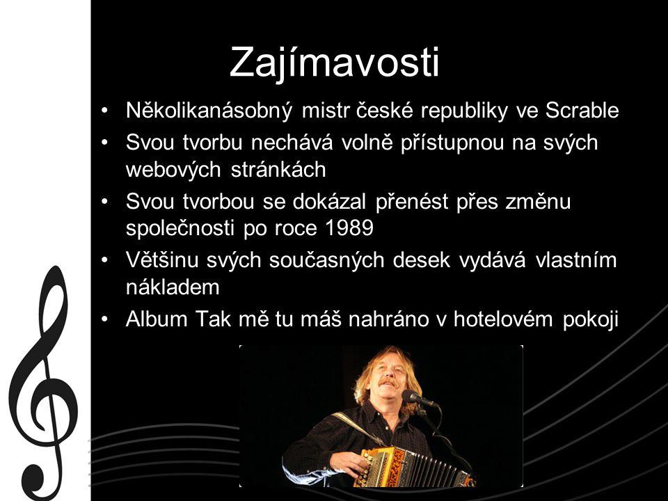 Zajímavosti Několikanásobný mistr české republiky ve Scrable