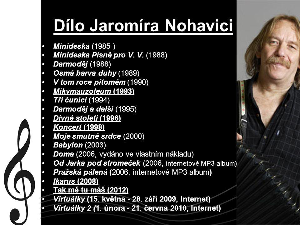Dílo Jaromíra Nohavici