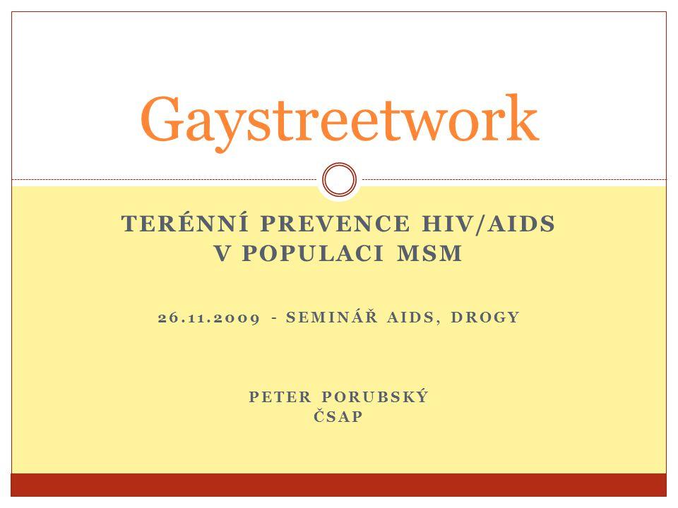 Terénní Prevence HIV/Aids