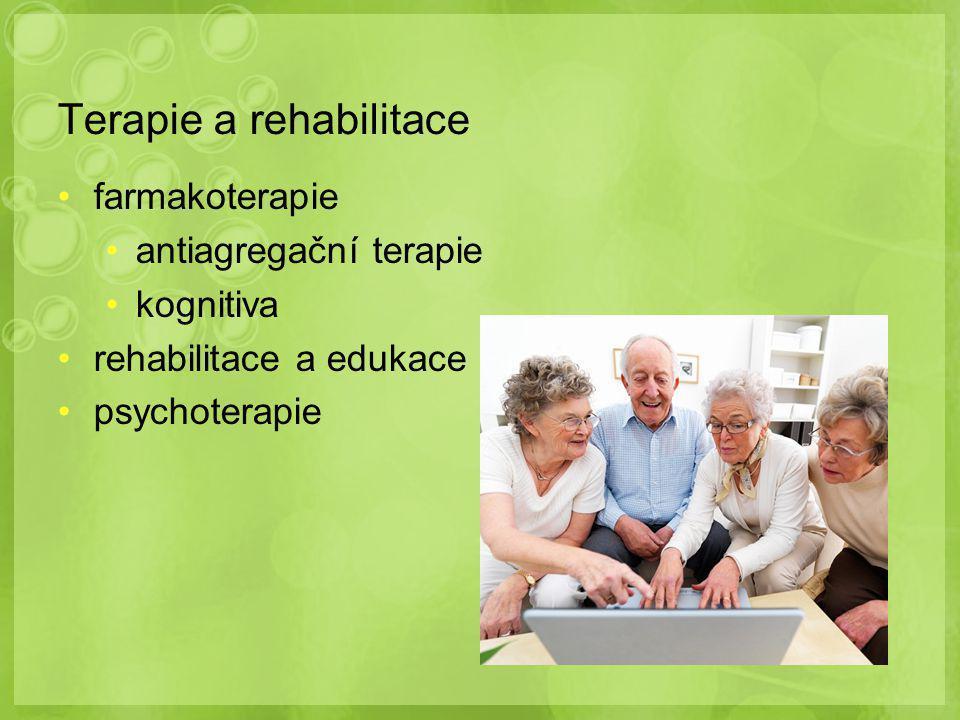 Terapie a rehabilitace