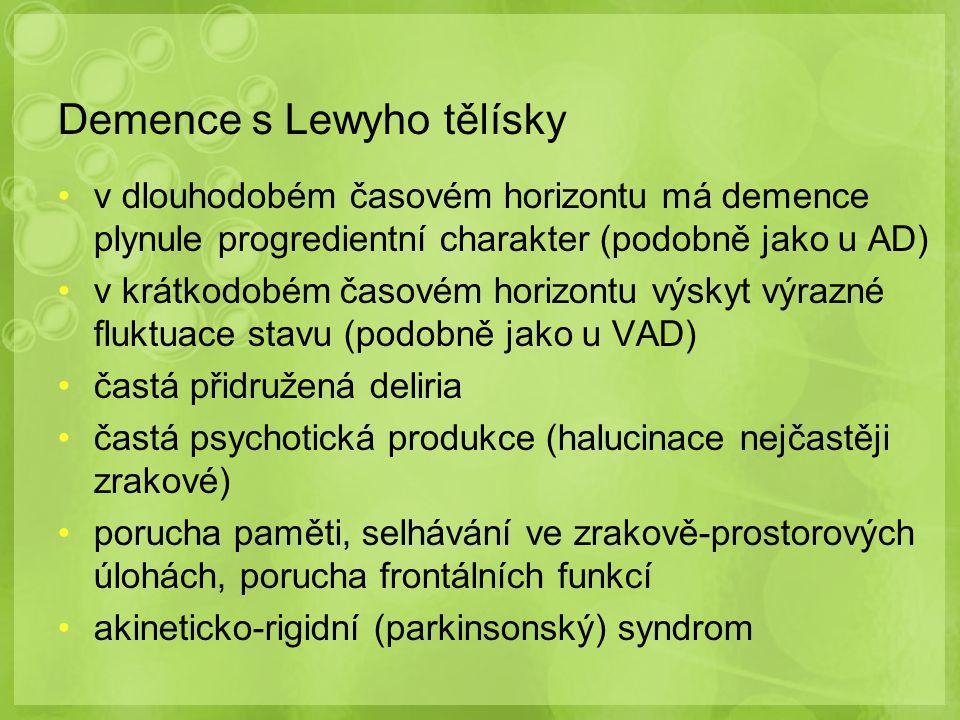 Demence s Lewyho tělísky