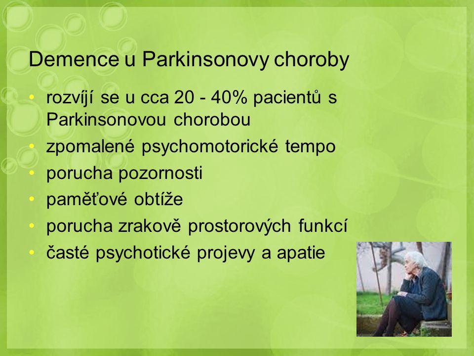 Demence u Parkinsonovy choroby