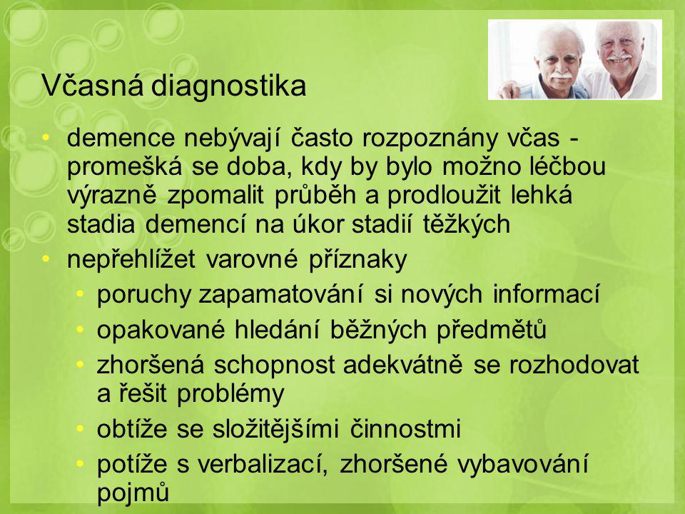 Včasná diagnostika