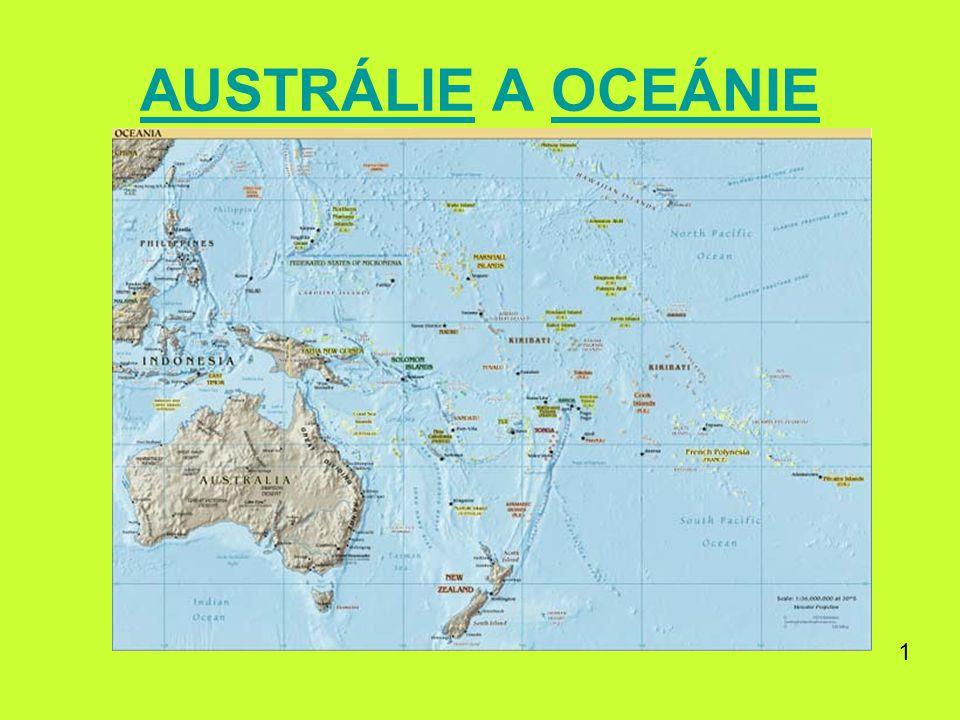 AUSTRÁLIE A OCEÁNIE 1