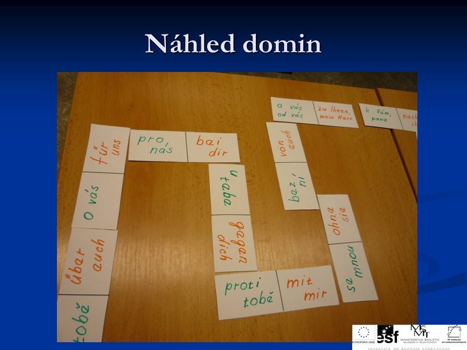 Náhled domin