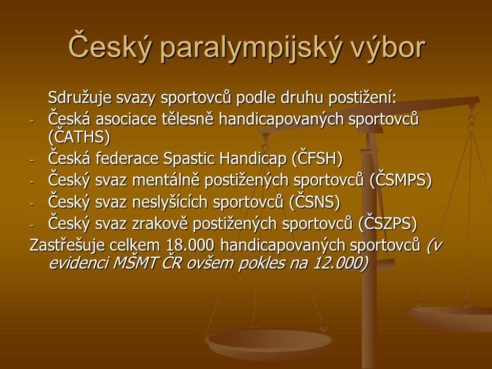 Český paralympijský výbor