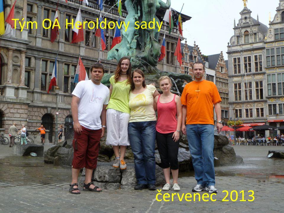 Tým OA Heroldovy sady červenec 2013