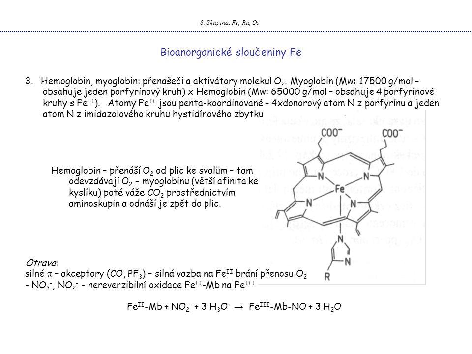 FeII-Mb + NO2- + 3 H3O+ → FeIII-Mb-NO + 3 H2O