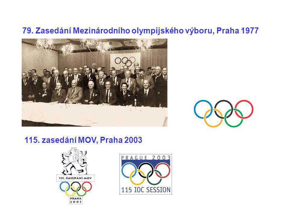 79. Zasedání Mezinárodního olympijského výboru, Praha 1977