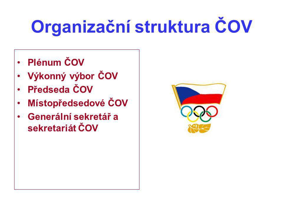 Organizační struktura ČOV