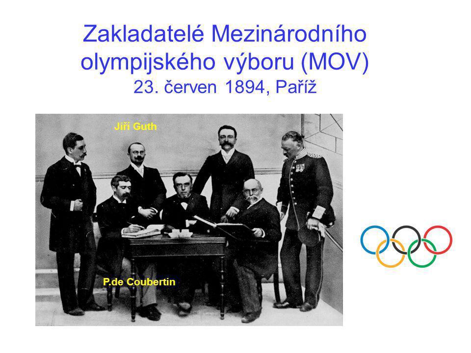 Zakladatelé Mezinárodního olympijského výboru (MOV) 23