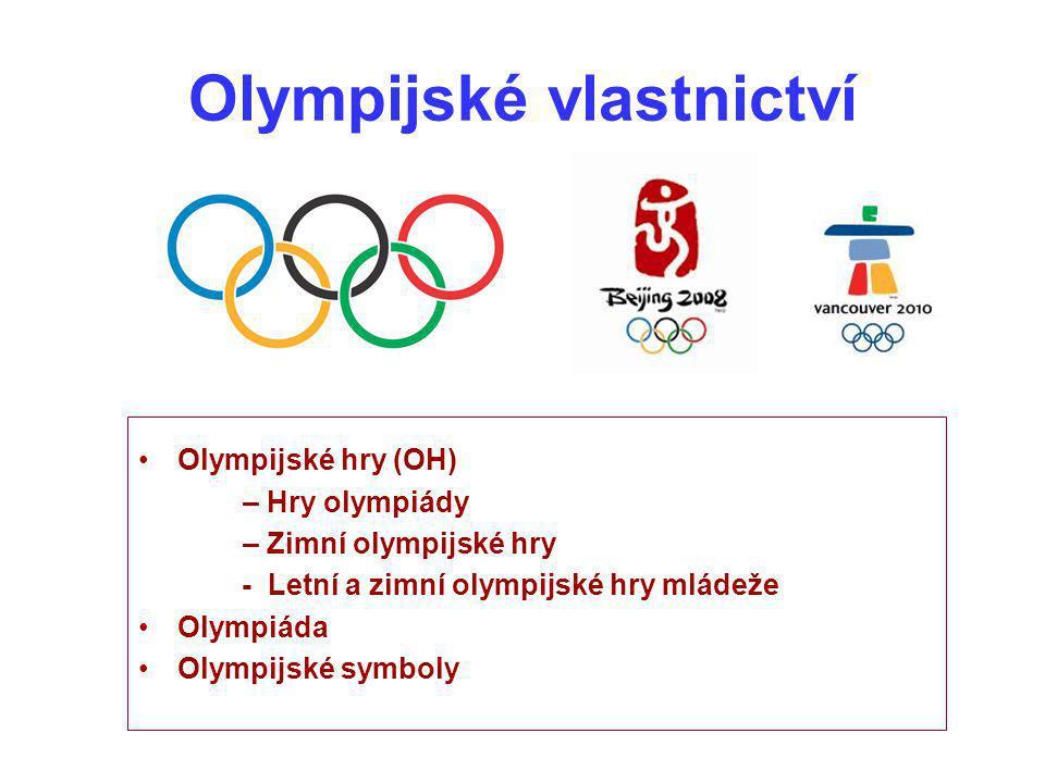Olympijské vlastnictví