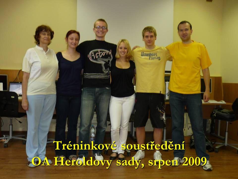 Tréninkové soustředění OA Heroldovy sady, srpen 2009
