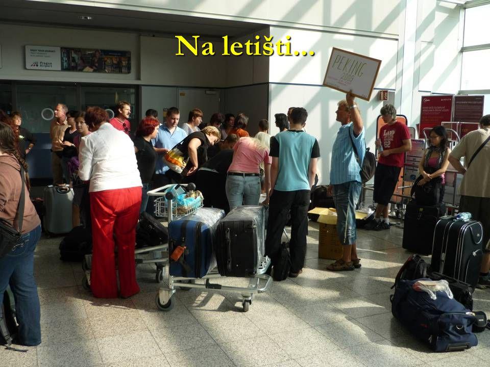 Na letišti...