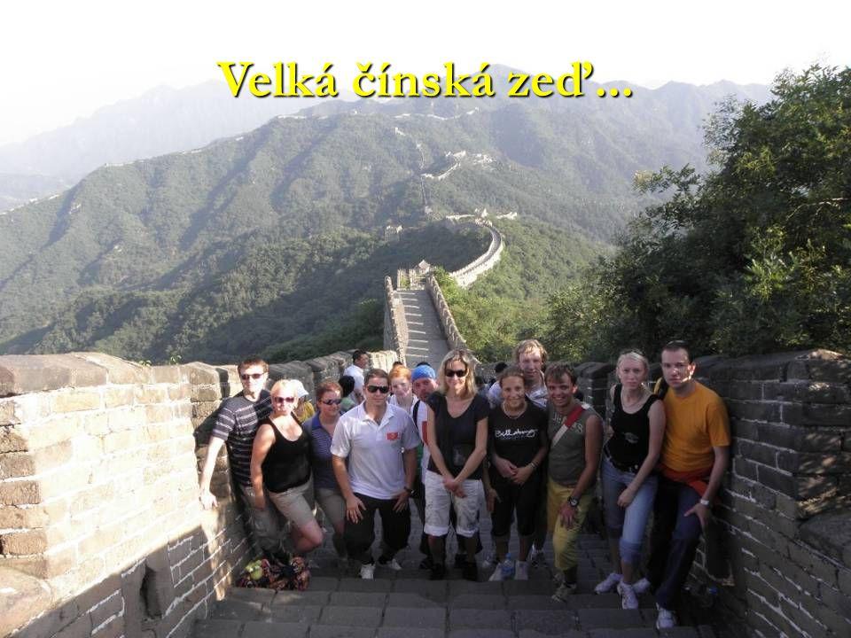 Velká čínská zeď...