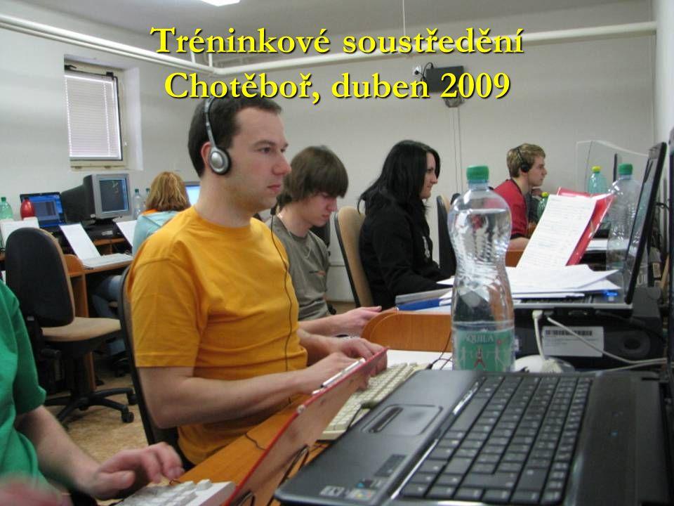 Tréninkové soustředění Chotěboř, duben 2009