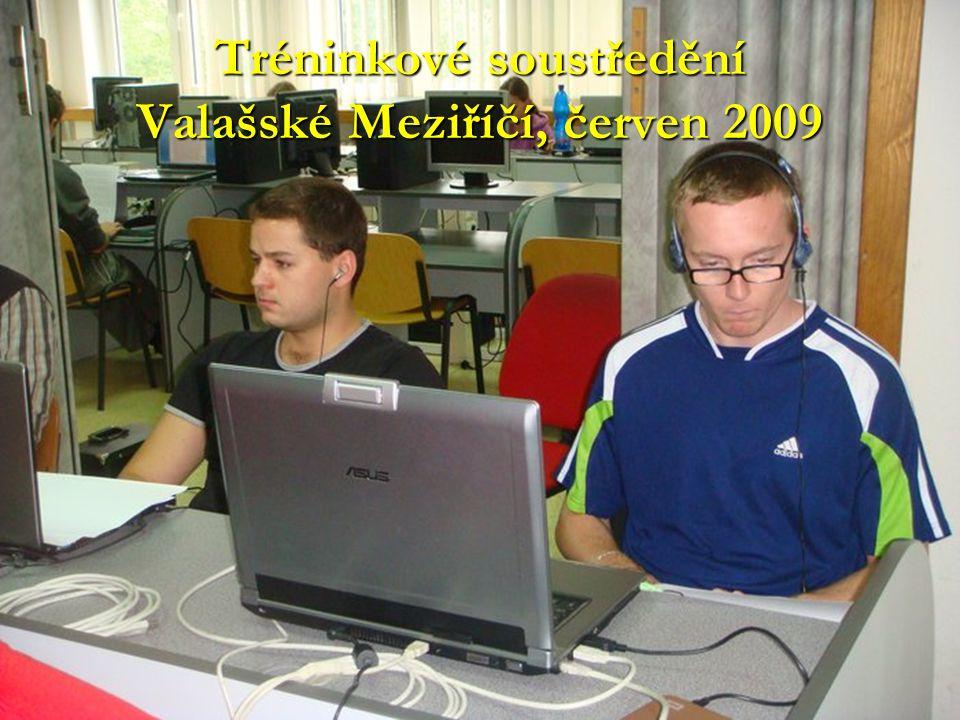 Tréninkové soustředění Valašské Meziříčí, červen 2009