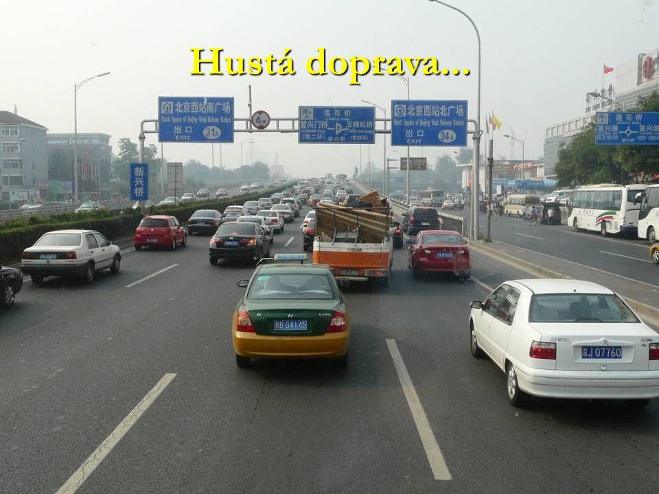 Hustá doprava...