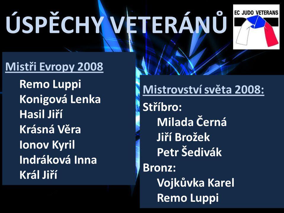 ÚSPĚCHY VETERÁNŮ Mistři Evropy 2008 Remo Luppi Konigová Lenka