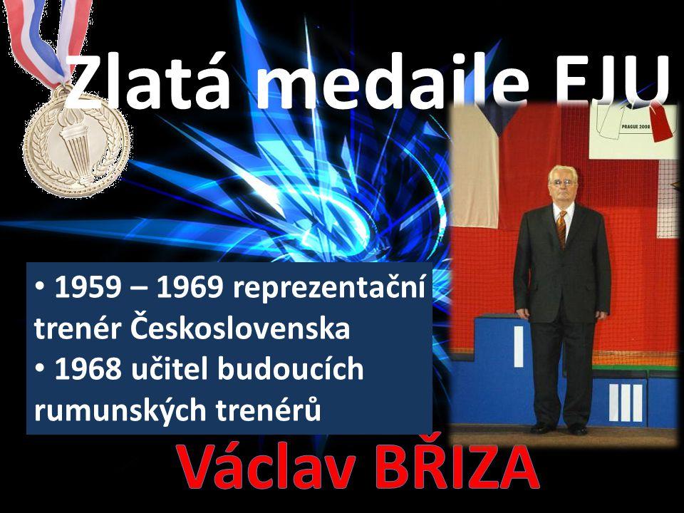 Zlatá medaile EJU Václav BŘÍZA