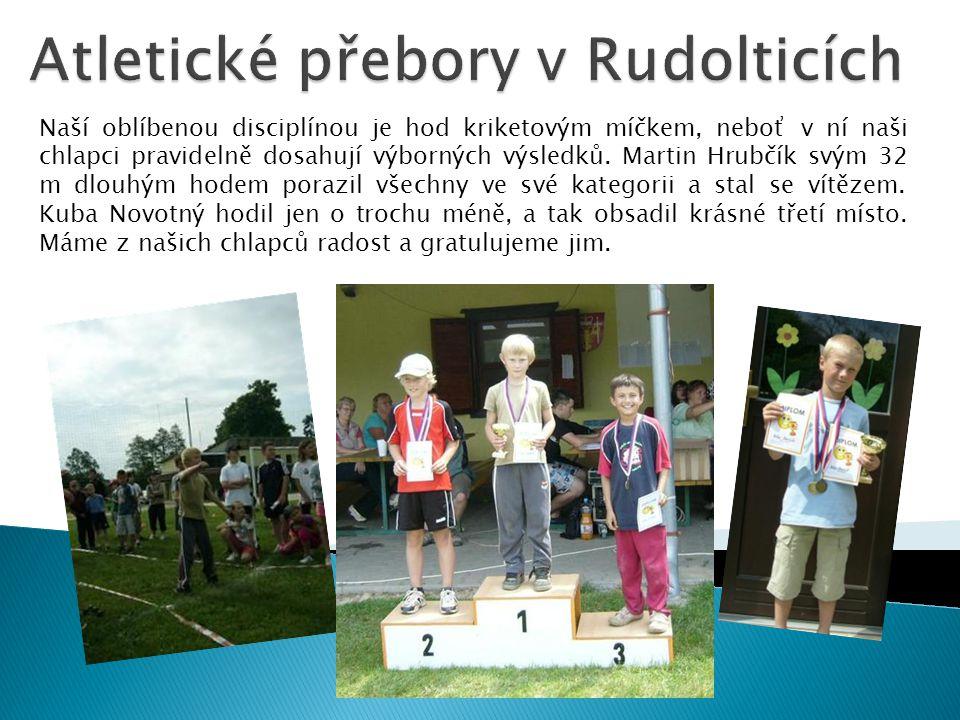 Atletické přebory v Rudolticích