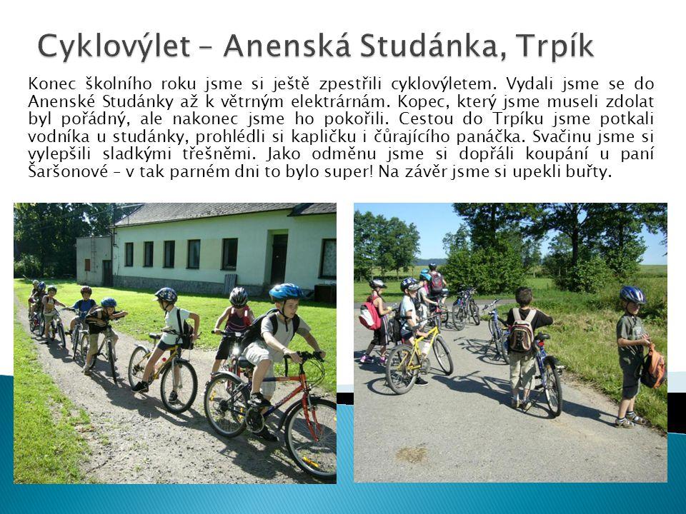 Cyklovýlet – Anenská Studánka, Trpík