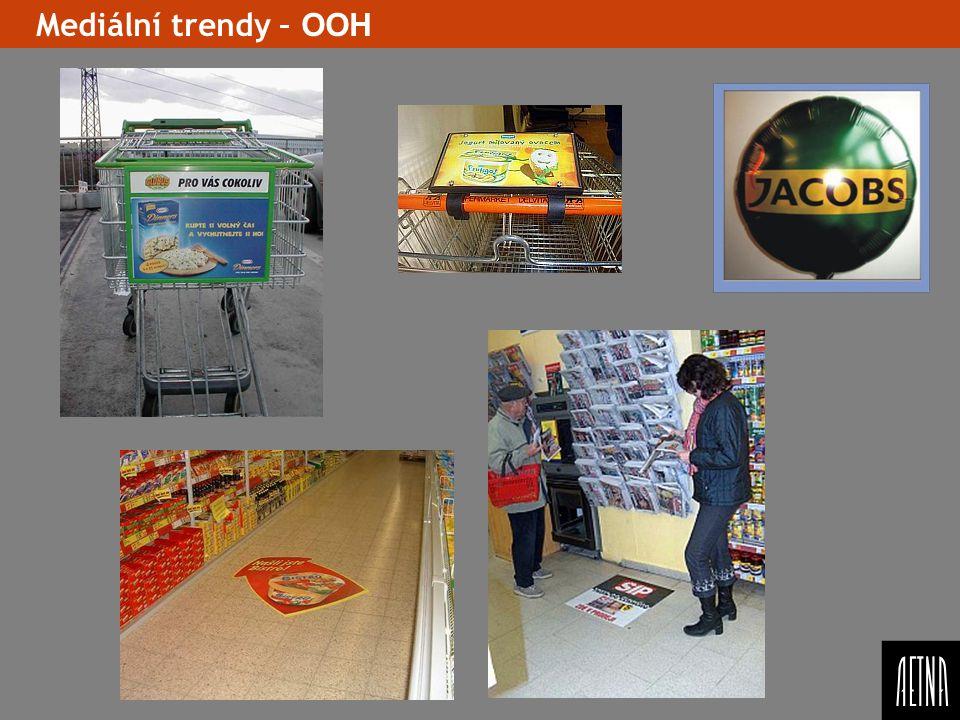 Mediální trendy – OOH Ukazat opet graficky kreativni formaty a spise rici(ukazat) dobry Ooh a spatny porovnani – nejake zavery.