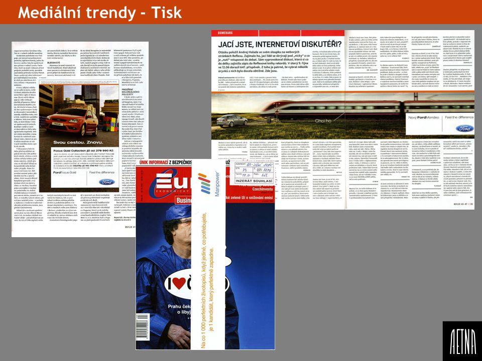 Mediální trendy - Tisk Vlozit slide s kreativníma formátama, priklady – uvest konkrétní priklad z Aetny – kdy co bylo pouzito,