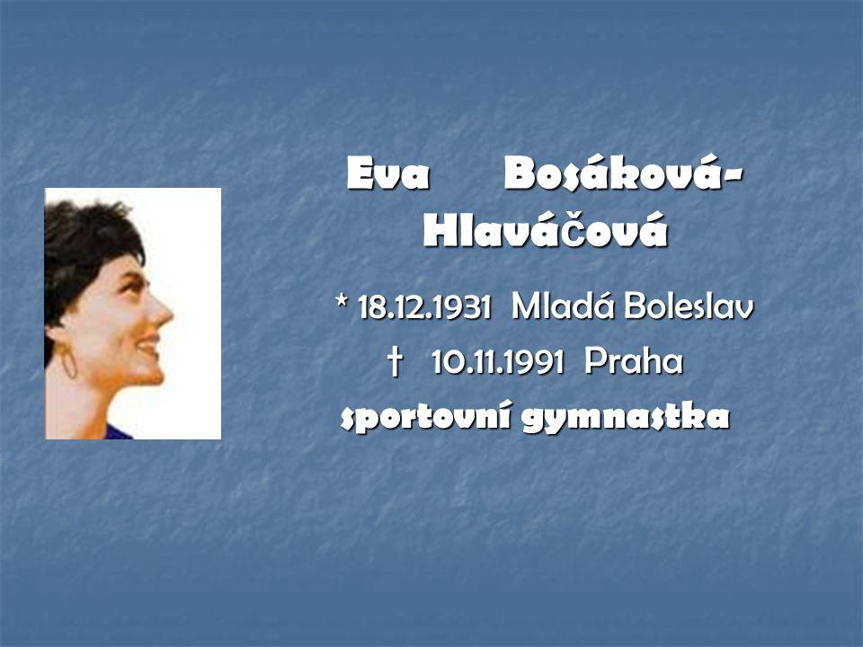 Eva Bosáková-Hlaváčová