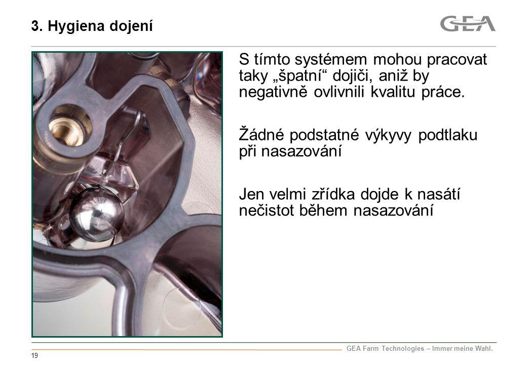 3. Hygiena dojení