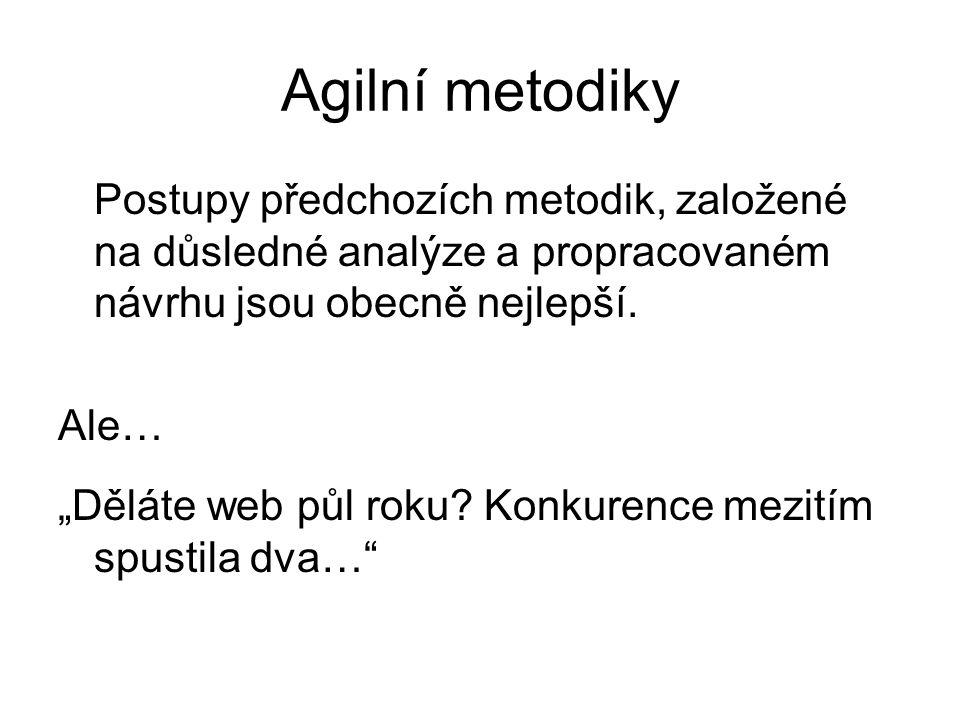 Agilní metodiky