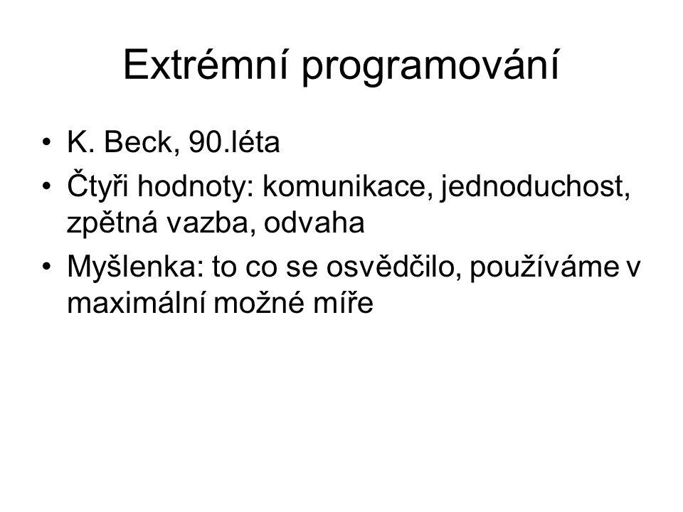 Extrémní programování