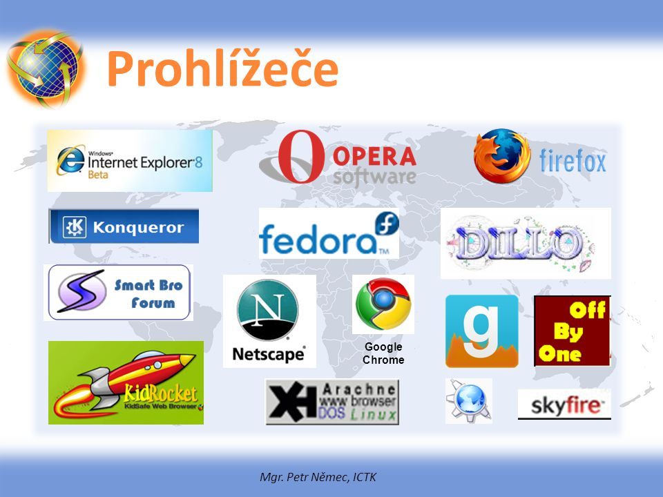 Prohlížeče Google Chrome