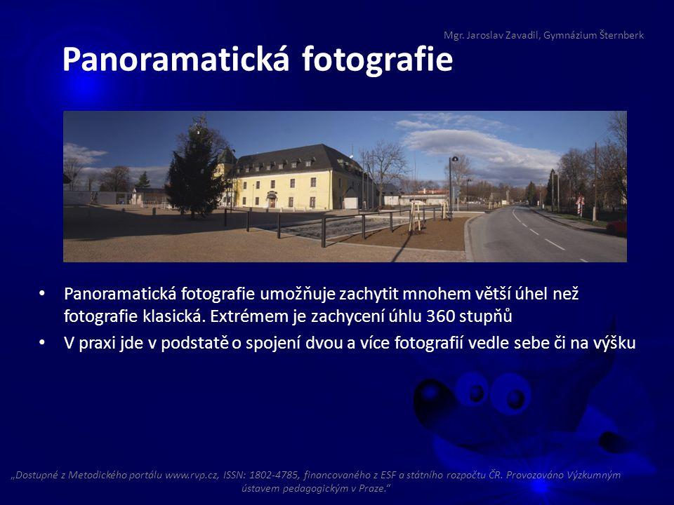 Panoramatická fotografie