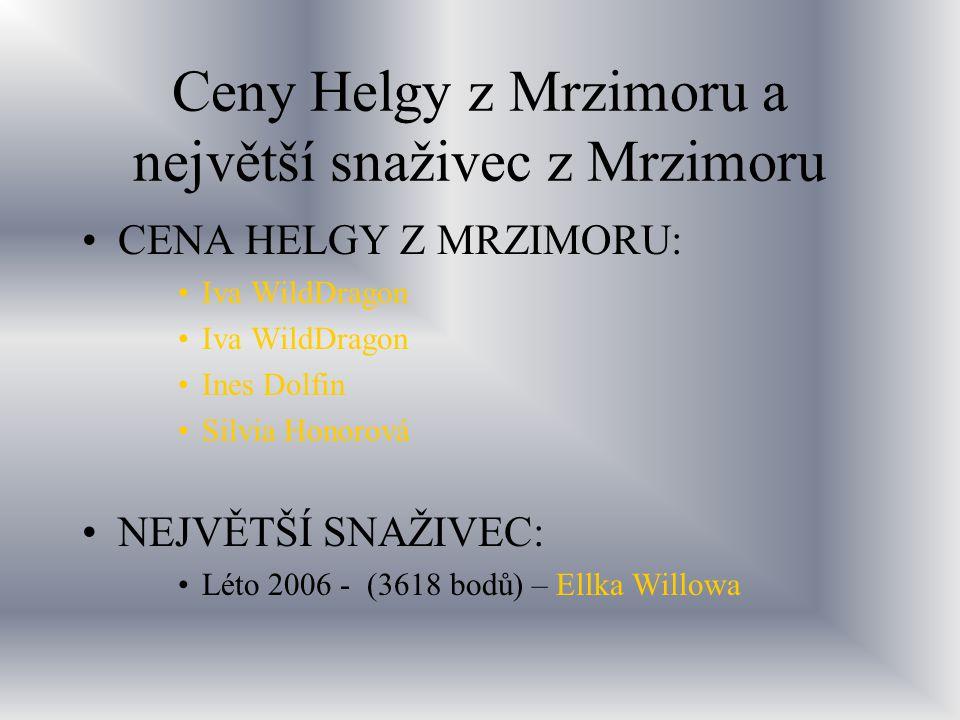 Ceny Helgy z Mrzimoru a největší snaživec z Mrzimoru