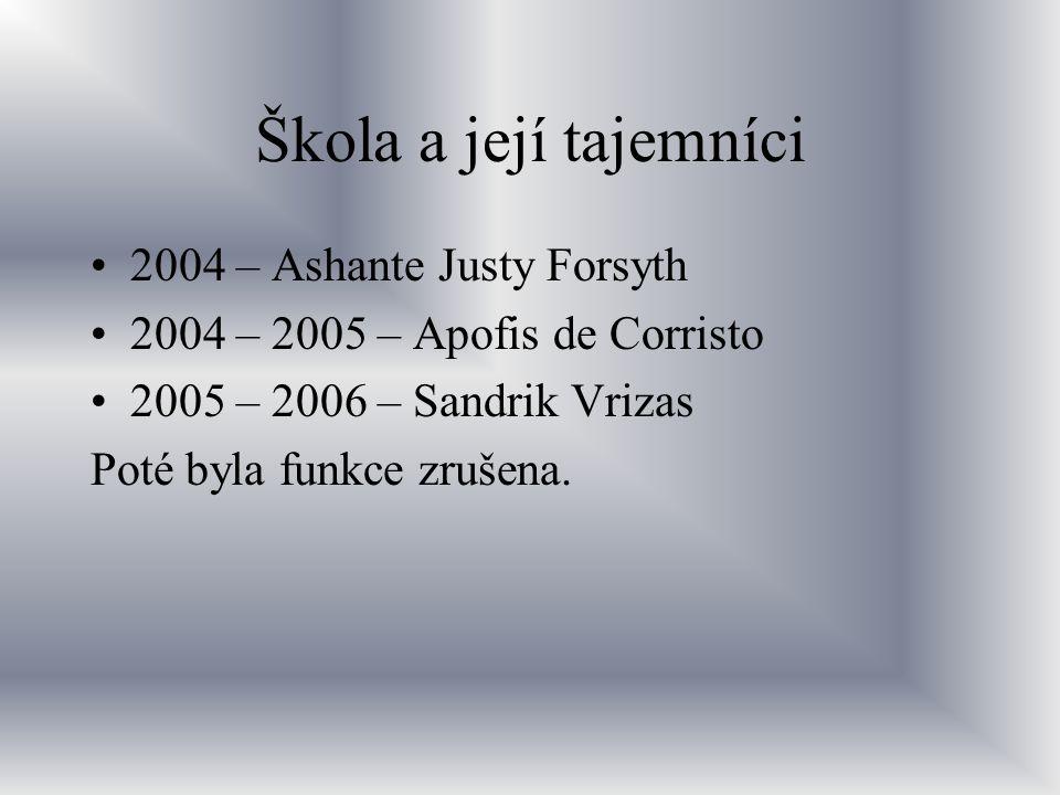 Škola a její tajemníci 2004 – Ashante Justy Forsyth
