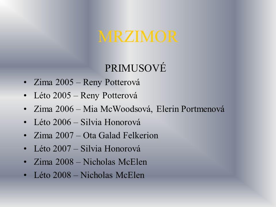 MRZIMOR PRIMUSOVÉ Zima 2005 – Reny Potterová