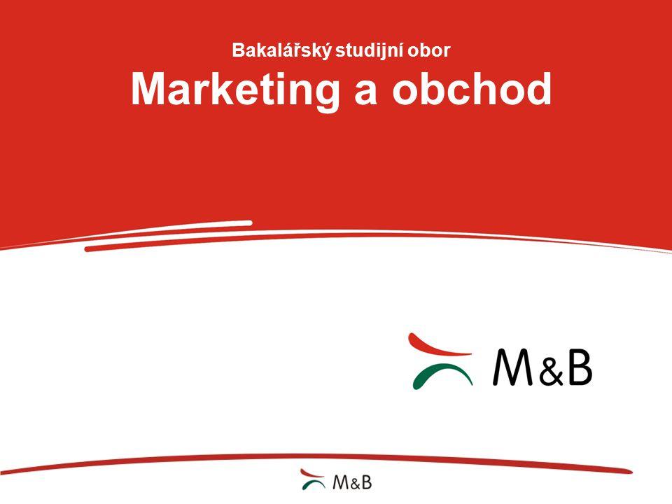 Bakalářský studijní obor Marketing a obchod