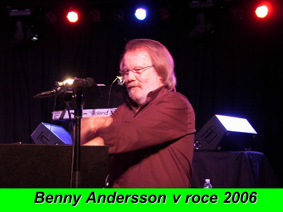 Benny Andersson v roce 2006