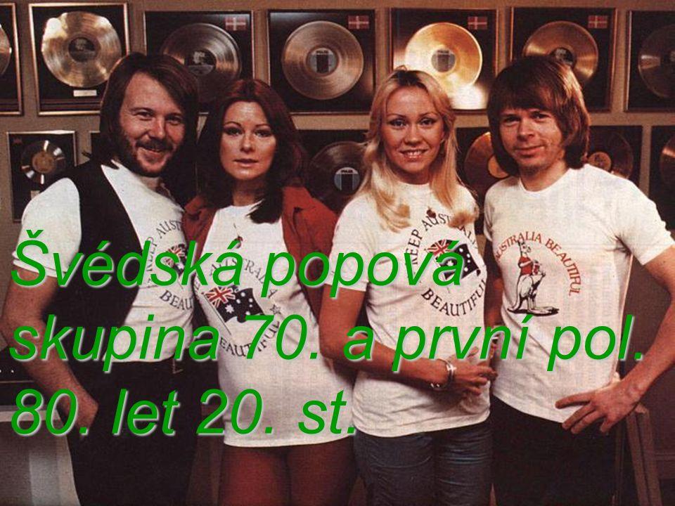 Švédská popová skupina 70. a první pol. 80. let 20. st.