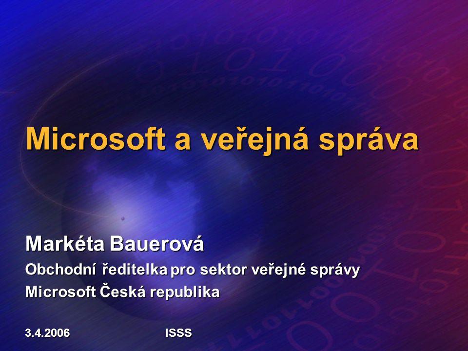 Microsoft a veřejná správa