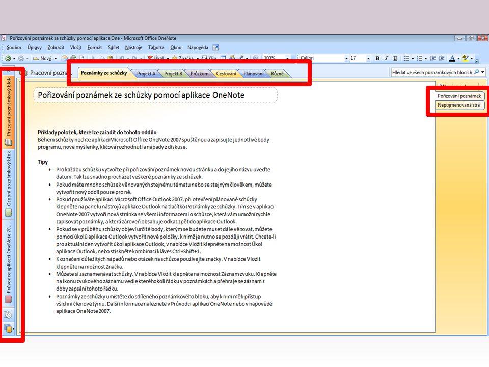 Tady bych vám ráda ukázala Printcreen aplikace – vizuálně velmi podobná ostatním aplikacím Microsoft Office – funguje vlastně jako šanon 