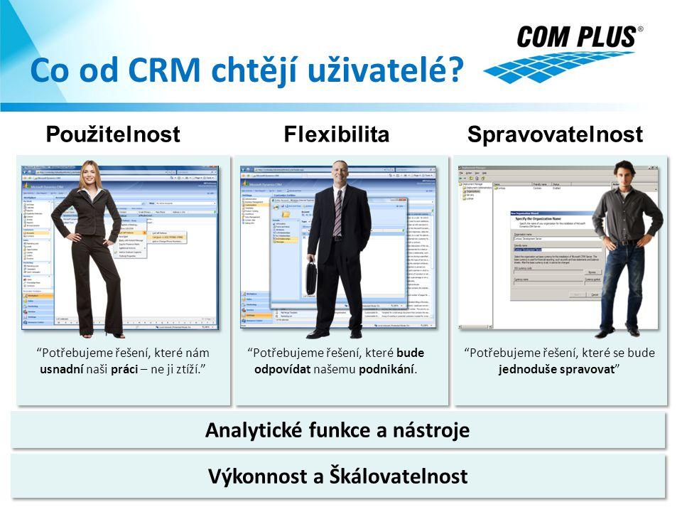 Co od CRM chtějí uživatelé
