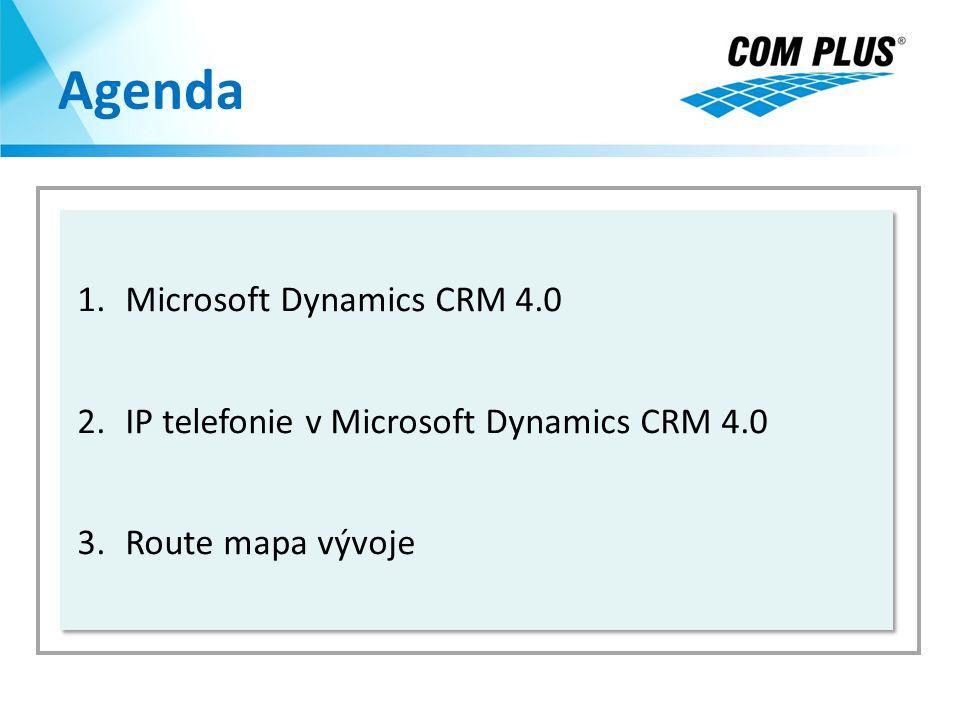 Agenda Microsoft Dynamics CRM 4.0