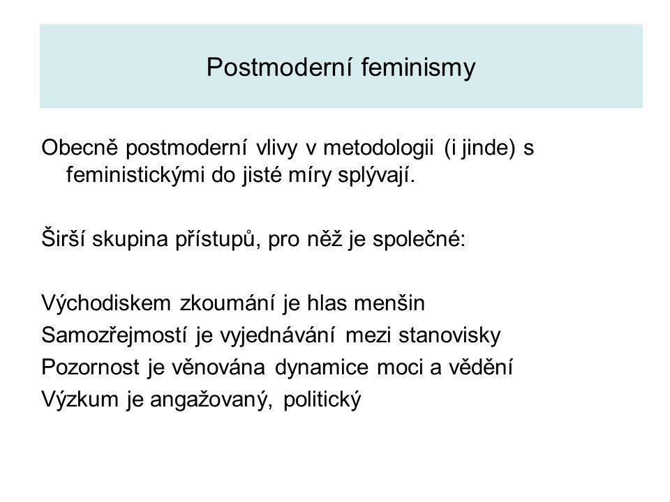 Postmoderní feminismy