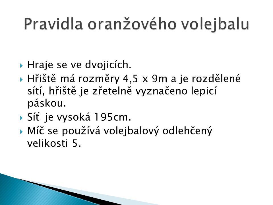 Pravidla oranžového volejbalu