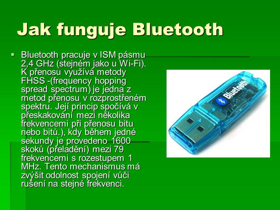 Jak funguje Bluetooth