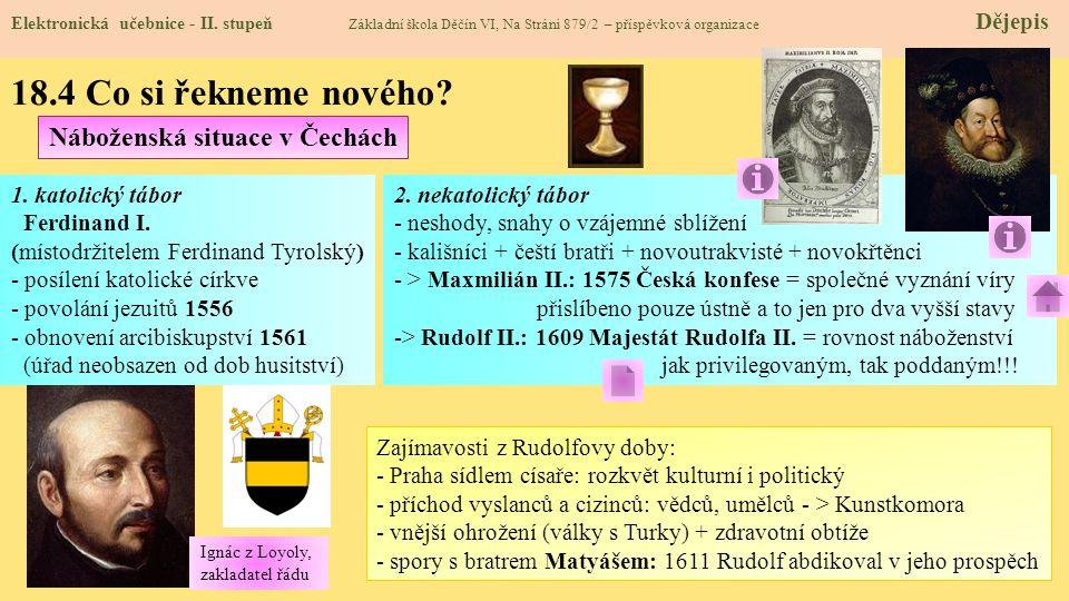 18.4 Co si řekneme nového Náboženská situace v Čechách